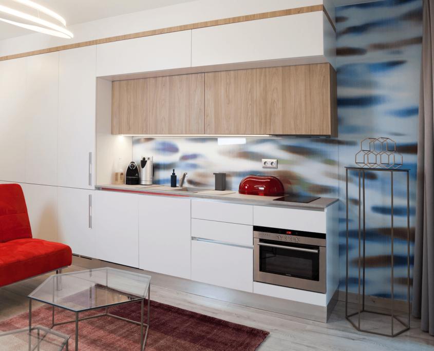 Belvárosi lakás konyha - Referenciák