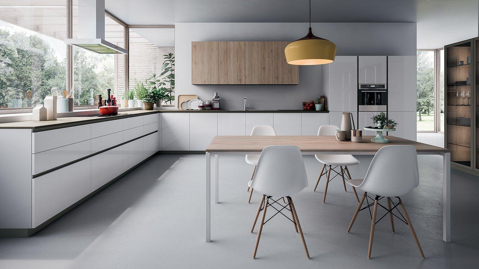 Olasz konyhabútor fehérben