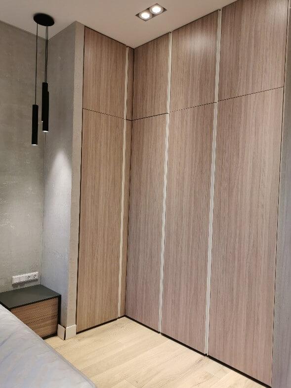 Modern polgári lakás Budán